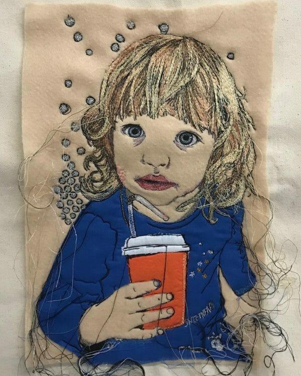 Alison Carpenter-Hughes - Betty - Free Machine Embroidery