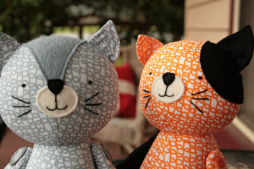 New cat sewing pattern