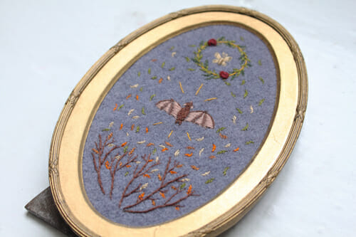 Adam Pritchett - Night Flight Embroidery