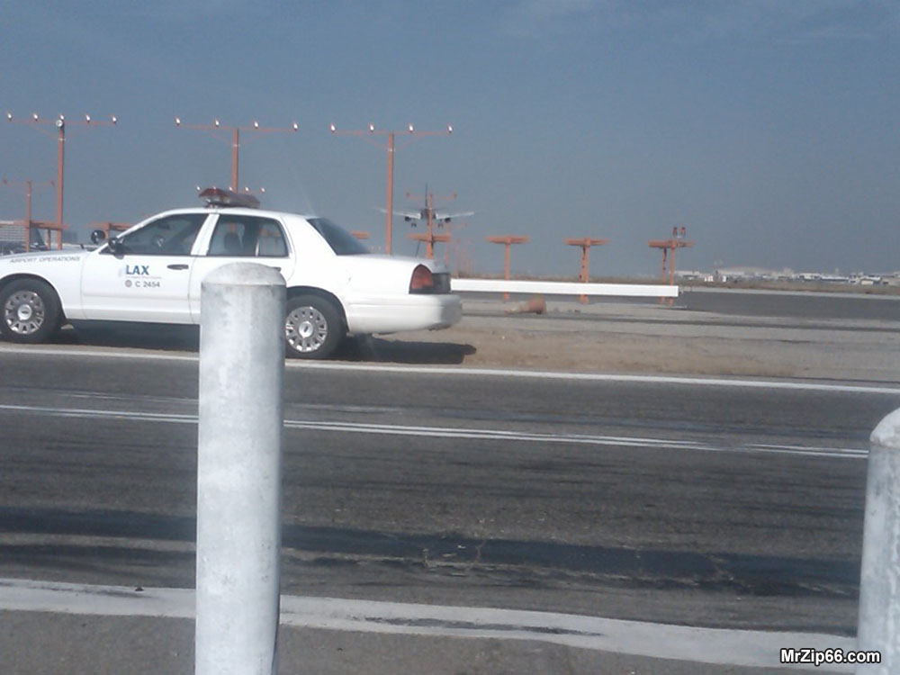 Airport Scene Easy Rider Los Angeles Airport