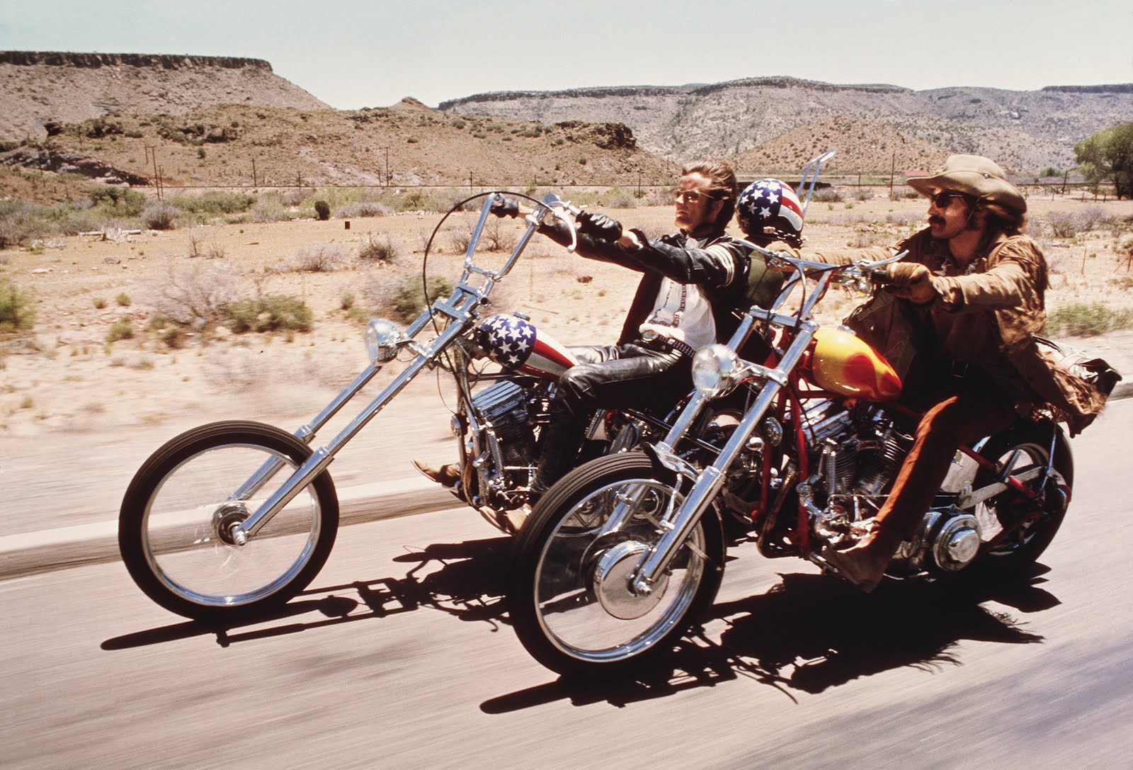 On The Trail Of Easy Rider 40 Years On Still Searching For America