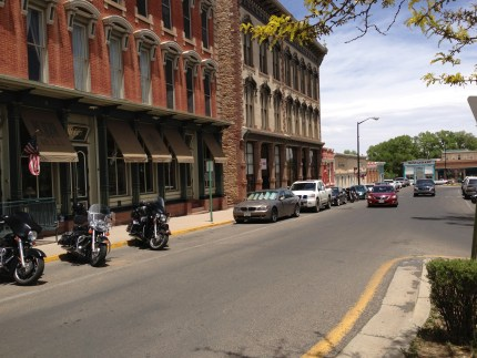 Parading without a permit in 2013 from the movie location Easy Rider