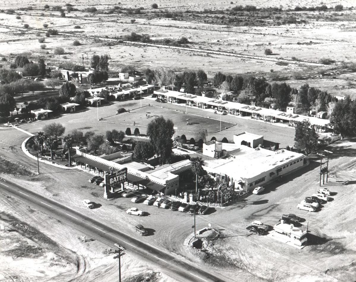 Buckhorn Baths Arial View 19402