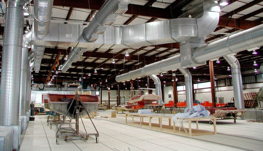 Sistemas de Ventilación Industriales