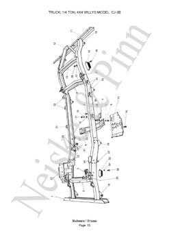 Willys 6 Cylinder Engine 4.0L Engine Wiring Diagram ~ Odicis