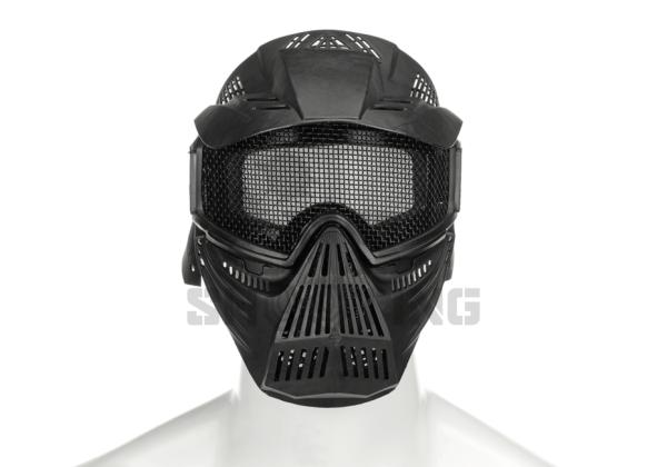Commander Mesh Mask black | Gesichtschutzmaske | MS - Shooting