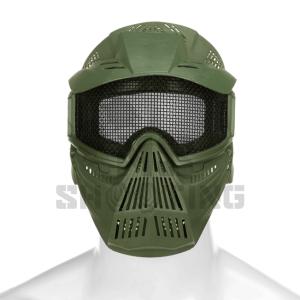 Commander Mesh Mask OD | Gesichtschutzmaske | MS - Shooting