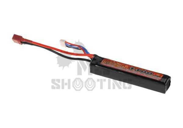 Lipo 11.1V 1100mAh 20C   Airsoftzubehör   MS - Shooting