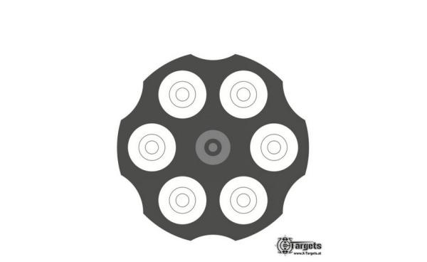 Revolver Target   Zielscheiben/Ringscheiben   MS - Shooting
