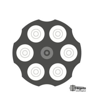 Revolver Target | Zielscheiben/Ringscheiben | MS - Shooting