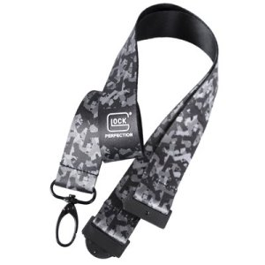 GLOCK Schlüsselband schwarz/camouflage Satin | MS - Shooting