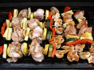 Orange turkey kabobs offer hunters with a different way to bring wild turkey to the table.