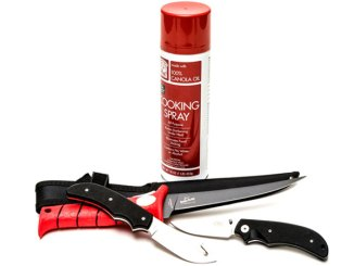 Keeping that favorite knife in good condition includes coating it with a light sheen of oil after cleaning.