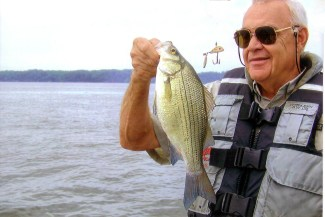 When you're fishing Pickwick in December, Paul Elias says you'll probably catch a number of white bass and other fish.