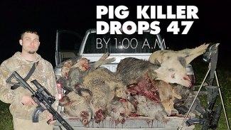 Pig killer drops 47 by 1:00 a.m.