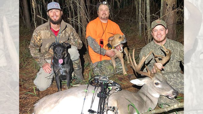 Troyce Luke Whittington's 12-point that measured 138 6/8 inches was killed Oct. 22 in Hinds County.