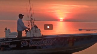 Fishing for sharks and bull redfish on rafts of mullet