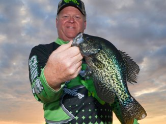 Clyde Folse has added to his line of crappie-fishing products with a jighead he's been using for 25 years.