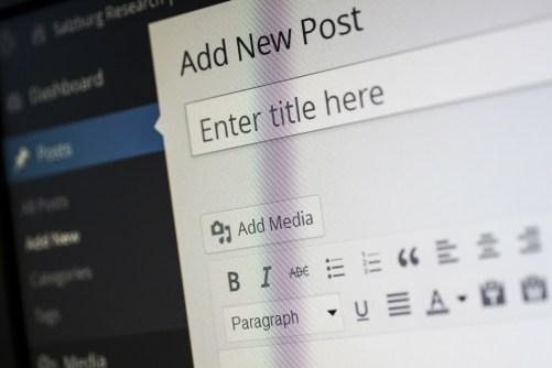 Poster un article sur wordpress