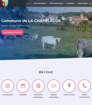 LA CHAPELAUDE - Site de la commune de La Chapelaude