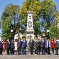 Encabeza Gobernador Silvano Aureoles acto por el 150 aniversario luctuoso de los Mártires de Uruapan
