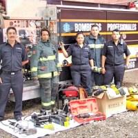 """Bomberos Profesionales de Uruapan, cuenta ya con el equipo """"Quijadas de la Vida"""""""