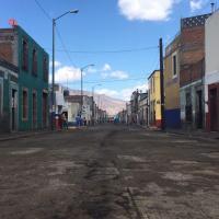 Reencarpetamiento en la calle Mariano Michelena: Morelia