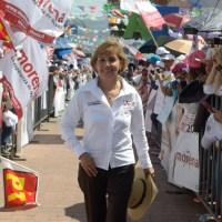 El Pueblo manda y el pueblo pidió a Blanca Piña como su senadora: AMLO