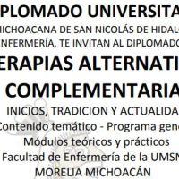 Impartirá UMSNH Diplomado sobre Terapias alternativas complementarias