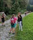 Wandertag der 1B (Pflanzgarten - Gallzein)