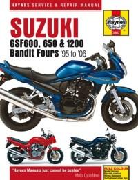 Suzuki GSF600 and GSF650 Bandit Haynes Manual - 3367 - MSA ...
