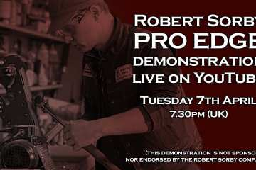 (REPLAY) Using the Robert Sorby Pro Edge Sharpening System (Recorded Live)