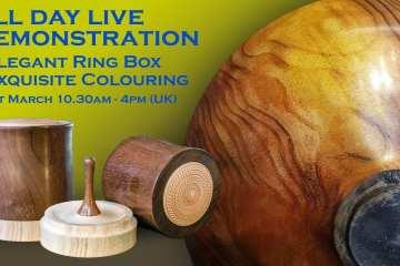 (REPLAY) Elegant Ring Box, Colouring and Advanced Wax Finishing
