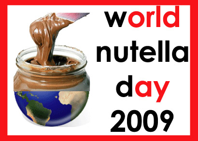 Announcing World Nutella Day 2009: February 5th