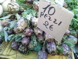 Artichokes in Puglia