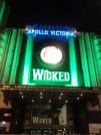 Wicked at Apollo Theater - copyright Sara Rosso