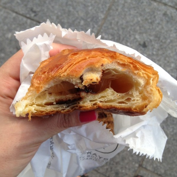 Maison Kayser Pain au chocolat - on Ms. Adventures in Italy by Sara Rosso