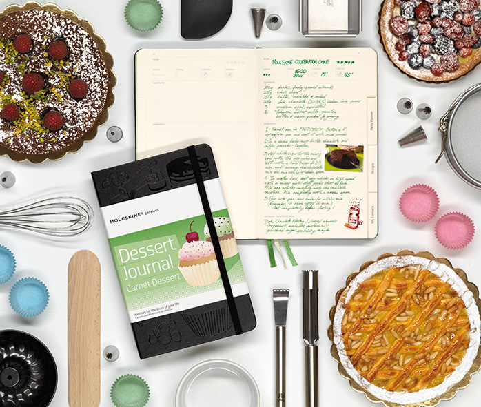 Introducing the Moleskine Passions Dessert Journal