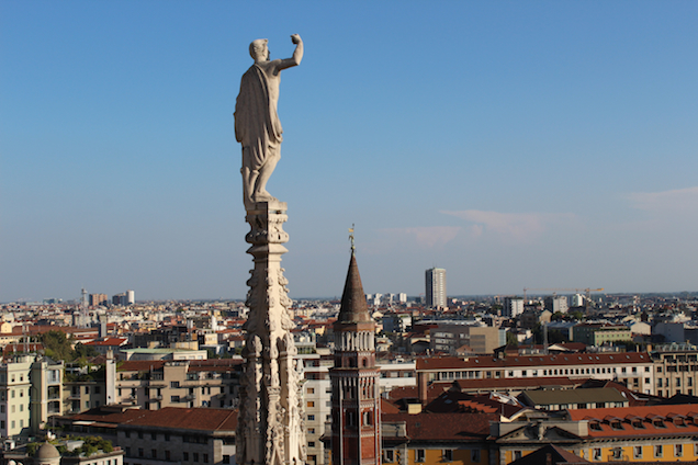 Top of the Duomo di Milano, Packingmysuitcase Blog