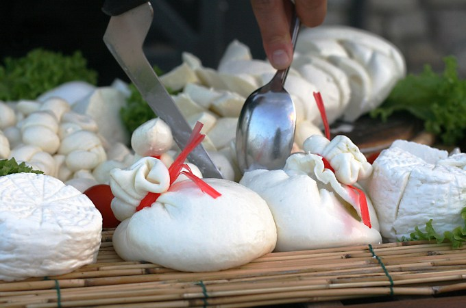 Burrata, Ms. Adventures in Italy by Sara Rosso