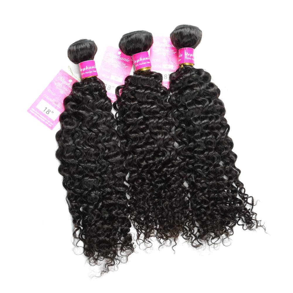 Curly Wave Hair Bundles Virgin Human Hair 2