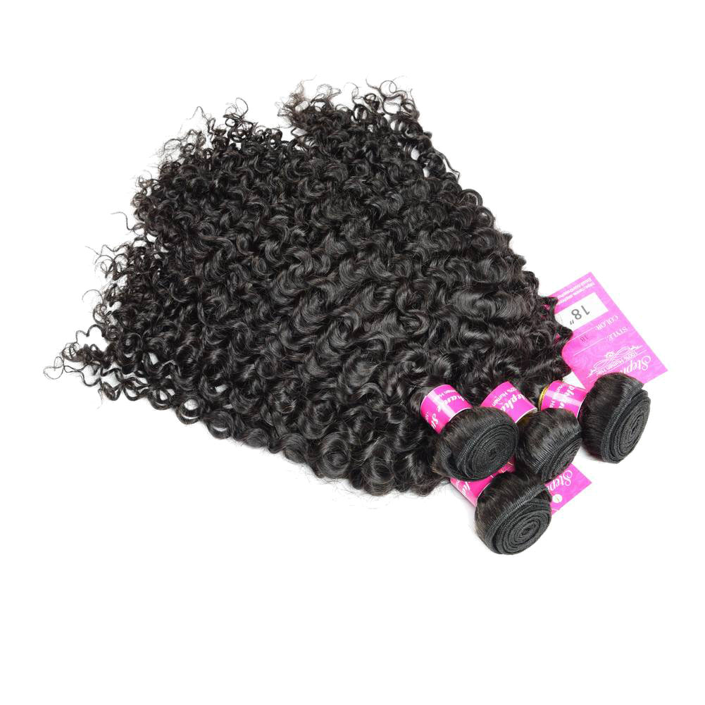 Curly Wave Hair Bundles Virgin Human Hair 7