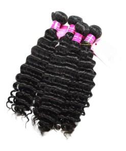 Deep Wave Human Hair Weave Bundles Deals 8
