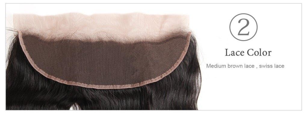 body wave bundles lace closure 3
