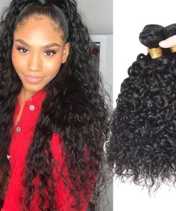 Brazilian Water Waves Hair Virgin Human Hair 4 Bundles deals