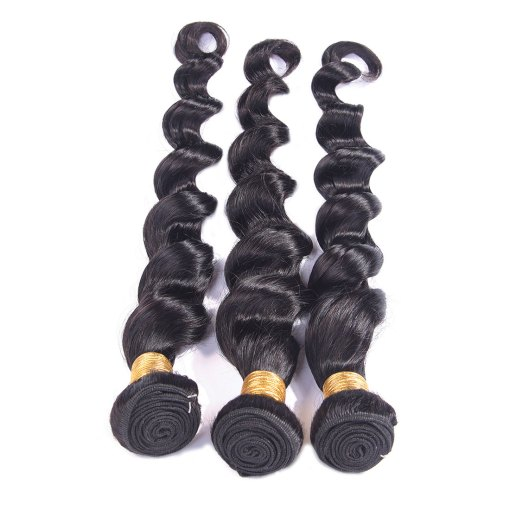 Loose Deep Wave Human-Hair Weave Sale 2
