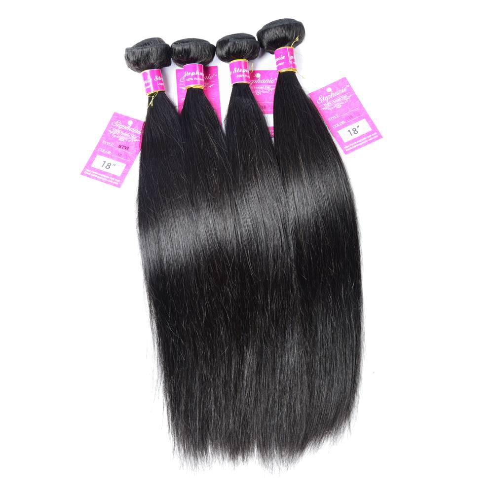 Straight Human Hair Weave 11
