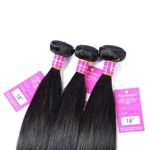 Straight Human Hair Weave 8