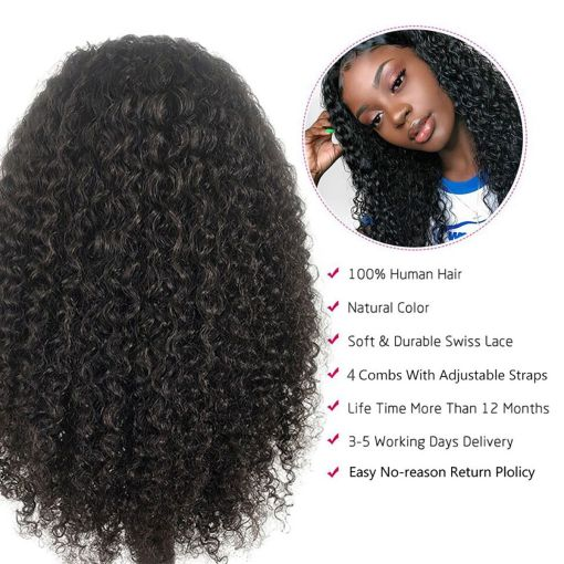 curly hair lace wigs