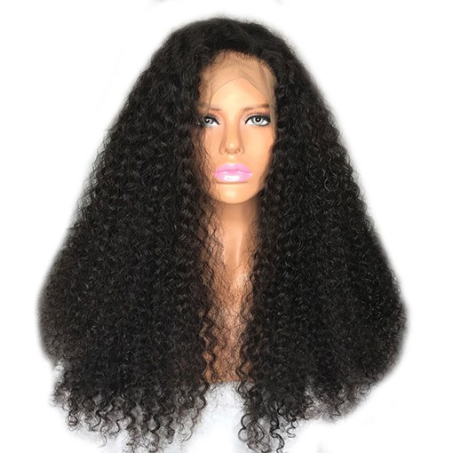 curly wave lace wig